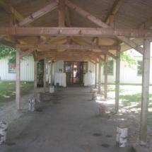 Waldhaus zur alten Tram Eingangsbereich
