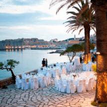 Stuhlhussenworld Hochzeitsfeier in Dubrovnik Kroatien